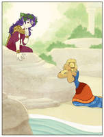Dio Meets Ariadne by Kitsune64