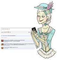 Facebook - Marie Antoinette by ARISTOCREEP