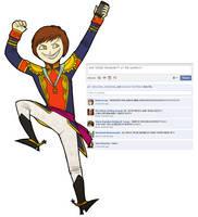 Facebook - Santa Anna by ARISTOCREEP
