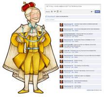 Facebook - King George III by ARISTOCREEP
