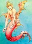 Mermaid OC by Lisentia