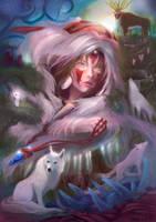 Mononoke FanArt by LorennTyr