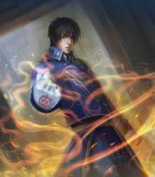 Roy Mustang by LorennTyr