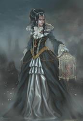 Baroque demon by LorennTyr