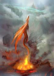 Born of fire by LorennTyr