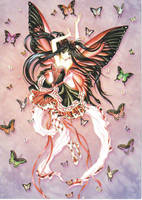 Anime fairy by iz17freak