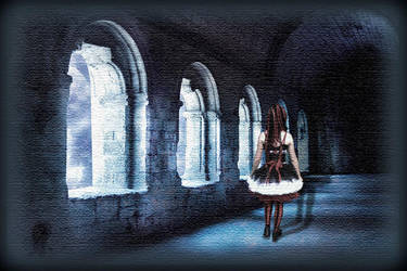 ::Down the Lonely Halls :: by firekittie