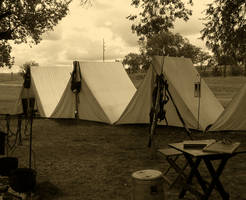 Tent Line by legolaslover2003