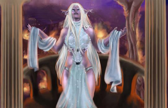 Queen Azshara by Aydalen