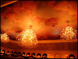 Chandeliers of Be Our Guest by Timitu