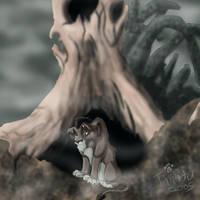 Cub Scar in the Graveyard by Timitu
