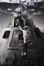 Kids Have Landed on Mars. by ElifKarakoc