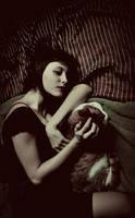 Monster and Cat by ElifKarakoc