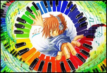 Color rhythm by kowan