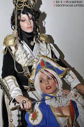 Trinity pairing by Sana-Kuja-cosplay