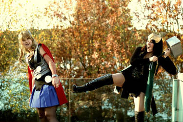 Sisters conflicts? by Sana-Kuja-cosplay