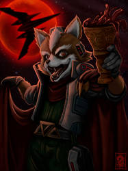 Vampire Fox by Dragerdeifrit