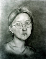 Female Potrait by Mulan209