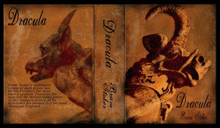 Dracula dust jacket by misteriddles
