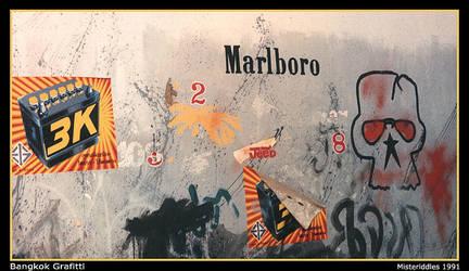Bangkok Grafitti by misteriddles