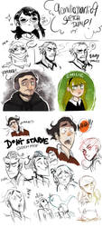 Doodles! :D by 9emiliecharlie9