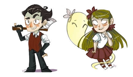 Don't Starve Chibis #1 by 9emiliecharlie9