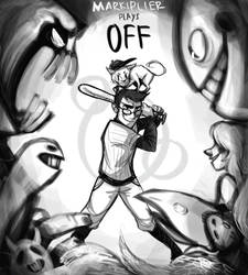 Markiplier plays OFF by 9emiliecharlie9