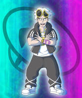 Team Skull Leader Guzma by Hey-its-Josh