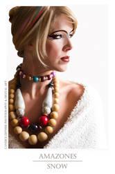 Photo de bijoux, art digital - Amazones Snow by Candicedethise