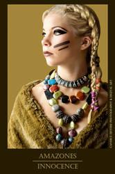 Photo de bijoux, art digital - Amazones Innocence by Candicedethise