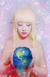 Goddess Hylia by YukoUzumaki