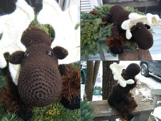 Moose Amigurumi by EffyCrush
