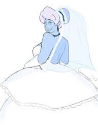 Bride Holly by DrawMeAPonyNamedBob