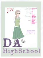 DA High School - RC118 by RikusChica118