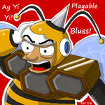 Hornetbee Man by RockMiyabi
