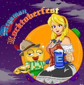 Megaman Rocktoberfest by RockMiyabi