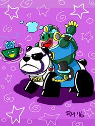 Bubbloo Pandamonium by RockMiyabi