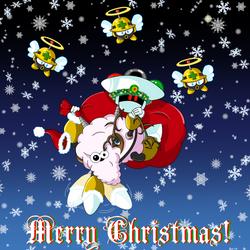 Santa Sheep Is Flying To Town - Robot Rumpus '17 by RockMiyabi