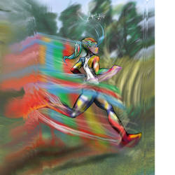 The Colors of Running by spontaneousOD