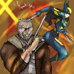 Wolverine for Old time's sake by spontaneousOD