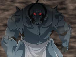 Fullmetal Alchemist : Alphonse Elric by flo94cody