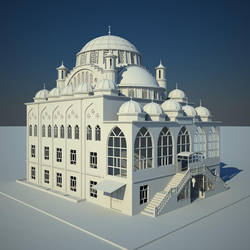 Mosque by haryigit