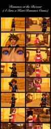 Sora x Kairi - Romance at the Bazaar by rev-rizeup