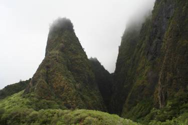 Hawaii Mountains by chocolateir-stock
