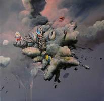 Ultraman 2 by Kaikaikiki