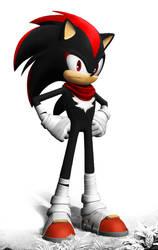 Sonic Boom - Shadow the Hedgehog by JonFArnold