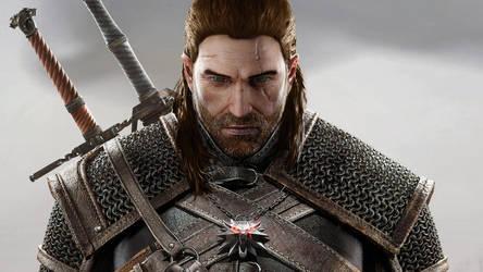 Human Geralt of Rivia by JonFArnold