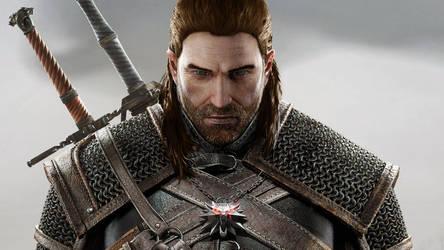 Human Geralt of Rivia (No Scars) by JonFArnold