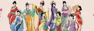 Chinese brush fashion #4 by Popza10CM