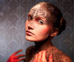 Adriana, Geisha Minnie Doll by TashKouri